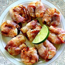 Chipotle Lime Bacon-Wrapped Shrimp