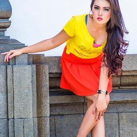 Derina Wenda by Deden Wahyuniman Mortir - People Fashion ( fashion, girl, modeling, modelling, beauty, fashion photography )