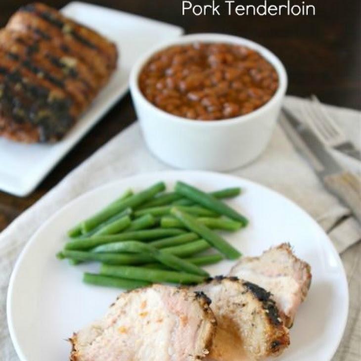Grilled Honey Mustard Pork Tenderloin Recipe | Yummly