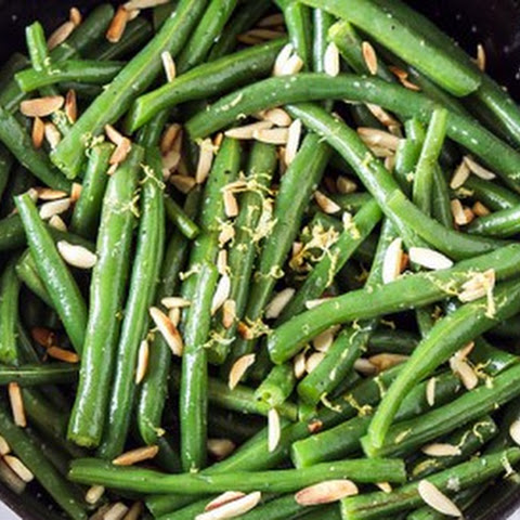 Brown Butter Green Beans with Slivered Almonds