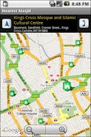 Screenshot of Nearest Masjid (Islam)