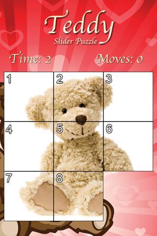 Teddy Slider Puzzle