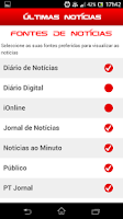 Screenshot of Últimas Notícias