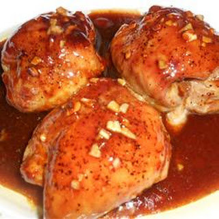 Oyster Sauce Chicken Thighs