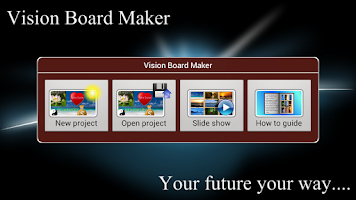 Screenshot of Vision Board Maker