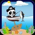 Lets Gone Fishing Panda Pirate APK for Bluestacks