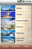 Screenshot of Turismo Valle D'Aosta
