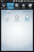 Screenshot of Workforce Track Simple ERP