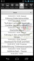 Screenshot of Landkreis Regen App