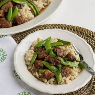 Slow Cooker Five Spice Pork with Sugar Snap Peas