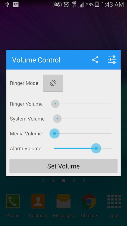 Volume Control Plus Screenshot