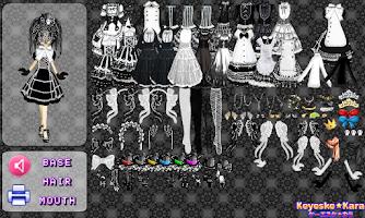 Screenshot of Gothic Lolita Fashion Lite