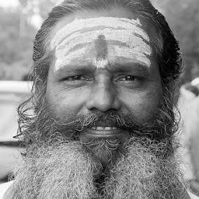 by Muthu Kumar - Black & White Portraits & People ( hindu, male, indian )