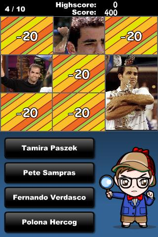 Guess Who -Tennis Edition-