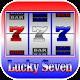 Lucky Seven Slot Machine.