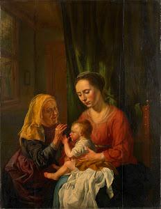 RIJKS: Dirk van Hoogstraten: painting 1630