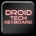 Droid Tech Keyboard Skin Red
