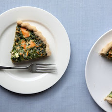 Salmon And Spinach Pie Recipe