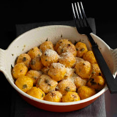 Cook the Book: Roasted Carrot and Ricotta Gnocchi with Herbed Butter