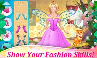 Screenshot of Fairy Dress Up - Makeover Game