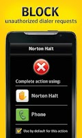 Screenshot of Norton Halt exploit defender