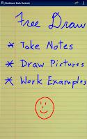 Screenshot of Blackboard Math™ Decimals