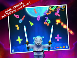 Screenshot of Ice Math Ninja