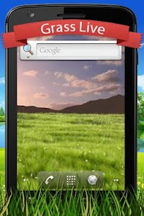 Grass Live Wallpaper - screenshot