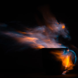 Dragon Coffee by Stefan Roberts - Artistic Objects Cups, Plates & Utensils ( mug, flames, coffee, coffee cup, fire )