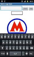 Screenshot of Metro Logo Quiz