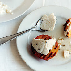 Grilled Peaches and Ricotta