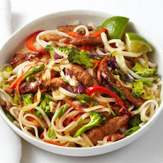 Pork and Noodle Stir-Fry