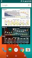 Screenshot of Meteogram Weather Widget