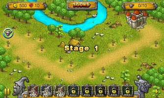 Screenshot of Wizards & Goblins