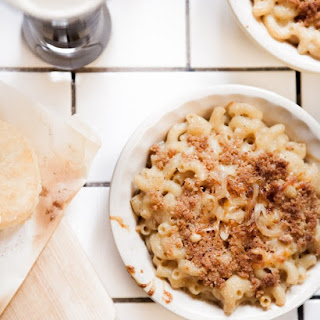 Caramelized Onion & Milk Stout Mac & Cheese