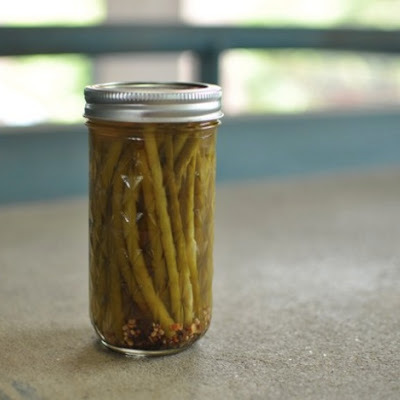 Pickled Garlic Scapes