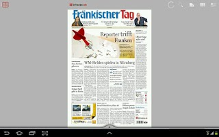 Screenshot of inFranken.de