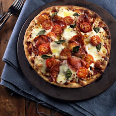 Salami & Buffalo Mozzarella Pizza