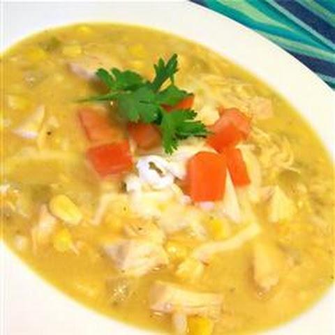 Southern chicken corn chowder recipe