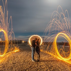 The Path of Love by Srdjan Vujmilovic - Abstract Fire & Fireworks ( canon, exposure, person, camera, land, like, landscape, nightphotography, photo, people, photography, portrait, dslr, astrography, macro, share, life, photographer, night, lonexposure, day, photoshop, improving mood, moods, red, love, the mood factory, inspirational, passion, passionate, enthusiasm,  )