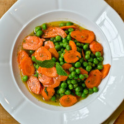 Carrot, Pea, and Mint Salad