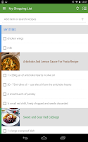 Screenshot of Whisk Recipes & Shopping List