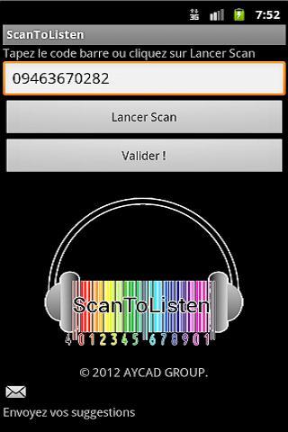 Scan To Listen