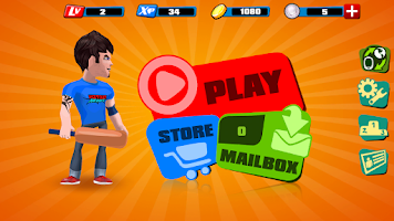 Screenshot of Hitout Heroes