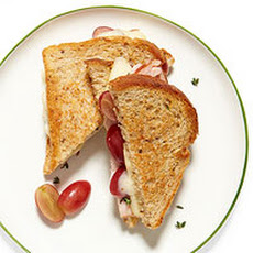 Turkey & Grape Grilled Cheese