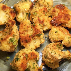 Oven Baked Crusty Herbed Cauliflower