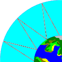 HF_MAP Sky Wave propagación icon