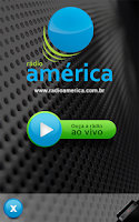 Screenshot of Rádio América AM 580