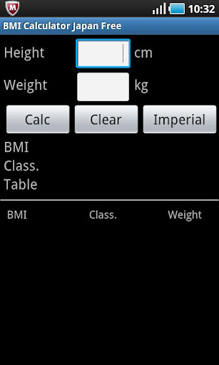BMI Calculator Japan Free