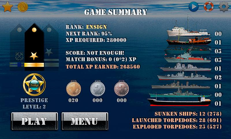 Silent Submarine Career Screenshot 4